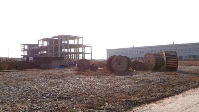 Көлік-логистика орталығының құрылысы тоқтап тұр