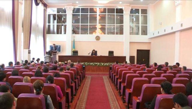 Облыстық сотта судьялардың жаңа әдеп кодексі талқыланды