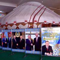 Түркістандағы мұражайда Президент күніне арналған көрме ашылды