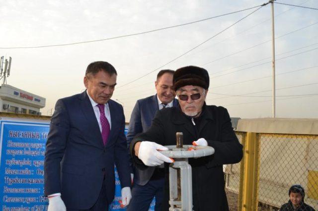 Түркістандықтарға табиғи газ берілуде