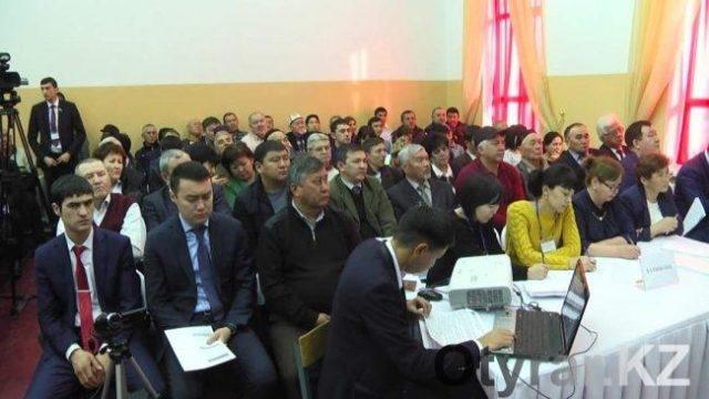 Еңбекші ауданы әкімінің есебі басталды