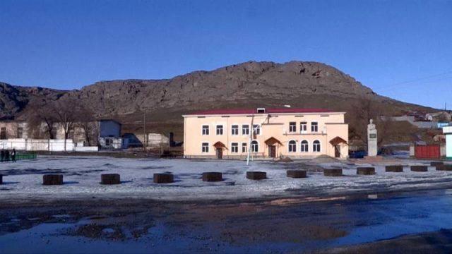Көне Хантағы ауылы көркеюде