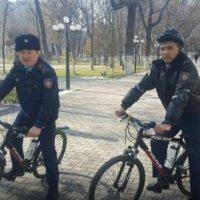 Шымкенттің полицейлері велосипедке қайта мінді