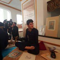 Ираннан келген суретші шымкенттіктердің таңдайын қақтырды