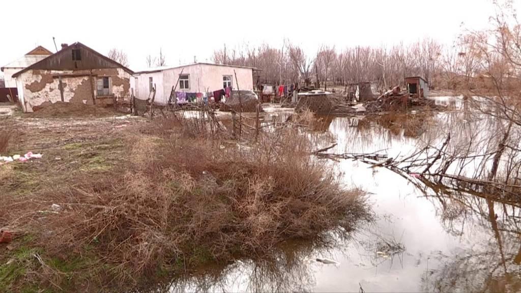 Көрікті, Жамбыл ауылдарында біраз ауланы тасыған су басты