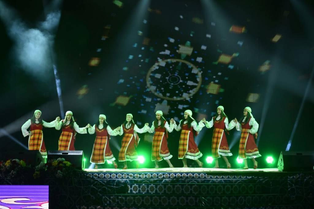 Оңтүстікте түркітілдес өнер жұлдыздарының концерті өтті