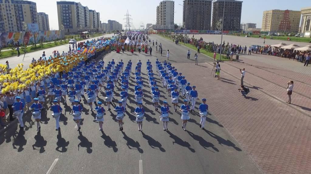 Оңтүстікте 15 мың оқушы қатысқан «Шабыт шеруі» өтті