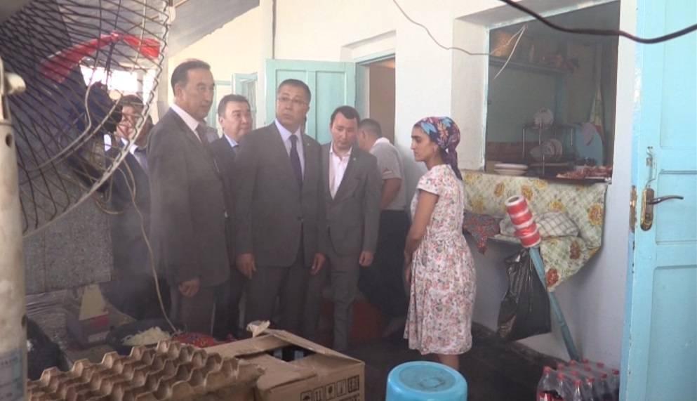ОҚО әкімі Мақтаарал ауданында күтпеген тексеру жасады