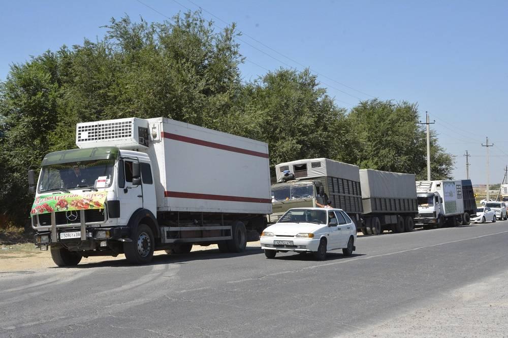 Оңтүстіктің ауыл шаруашылығы керуені Астана жол тартты