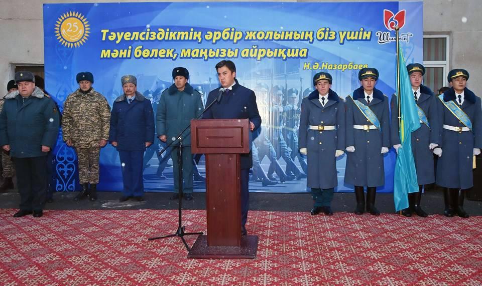 Шымкент қалалық әскери комиссариатқа жаңа ғимарат салынады