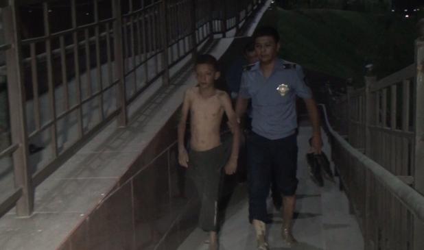 Шымкенттің полицейлері суға батқан мылқау жеткіншекті құтқарып қалды