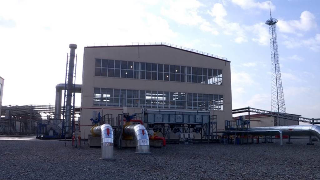 Қазақстан-Қытай газ құбырының жаңа станциясы ашылды