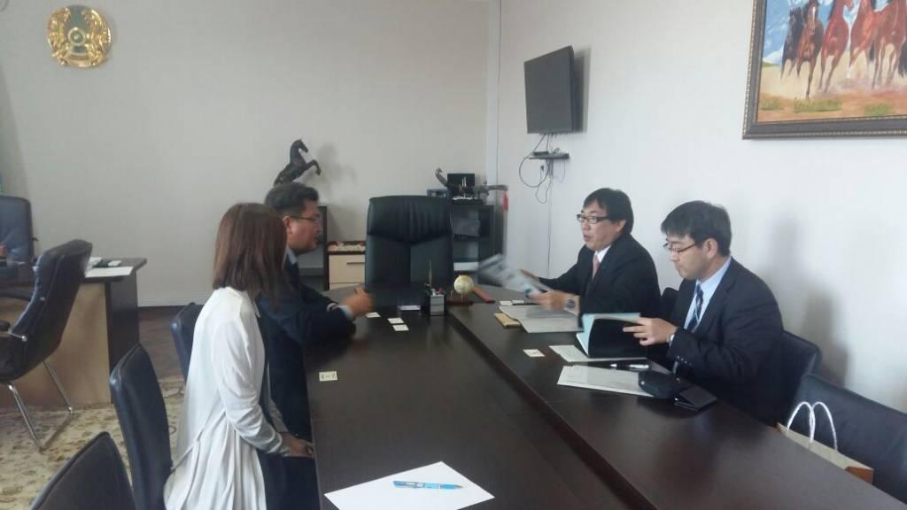 Оңтүстік Қазақстан облысына Жапониядан делегация келді