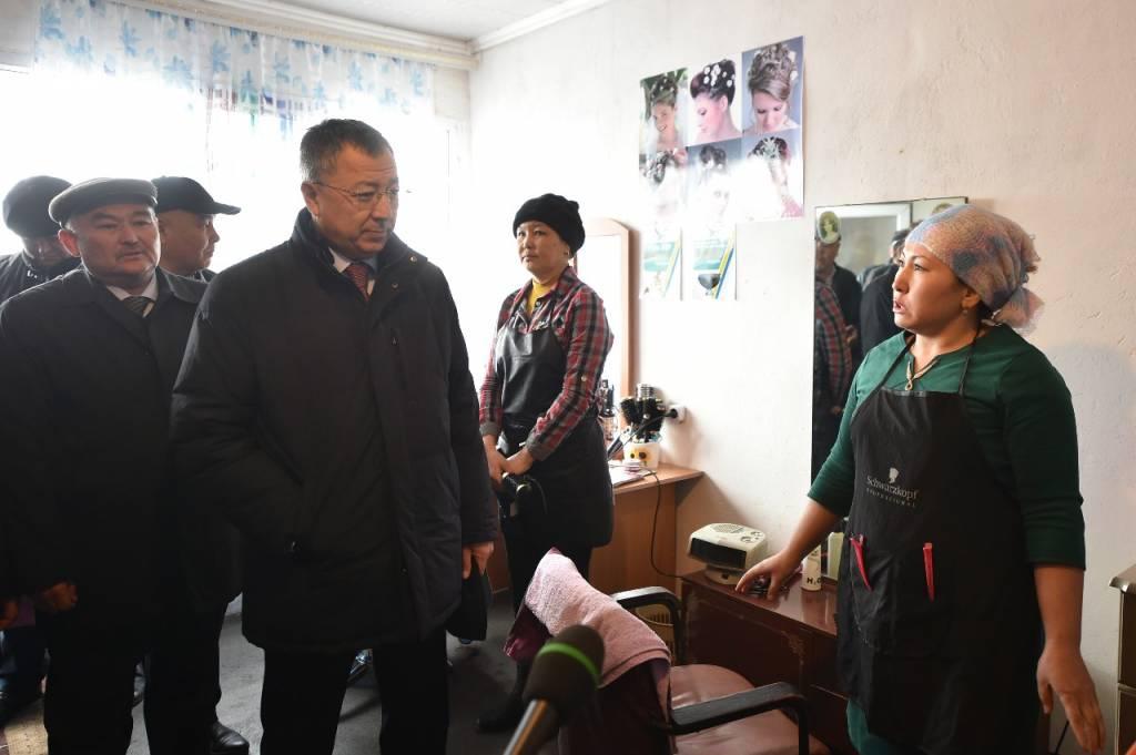 Ж.Түймебаев: Басты мақсат – тұрғындарды жұмыспен қамту