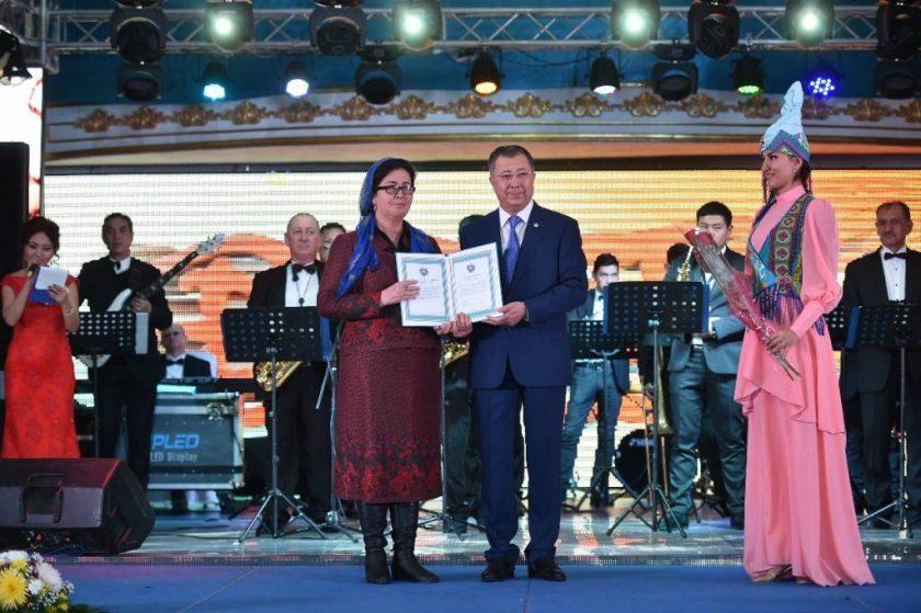 Оңтүстікте «Астана - тәуелсіздіктің жемісі»салтанатты кеші өтті