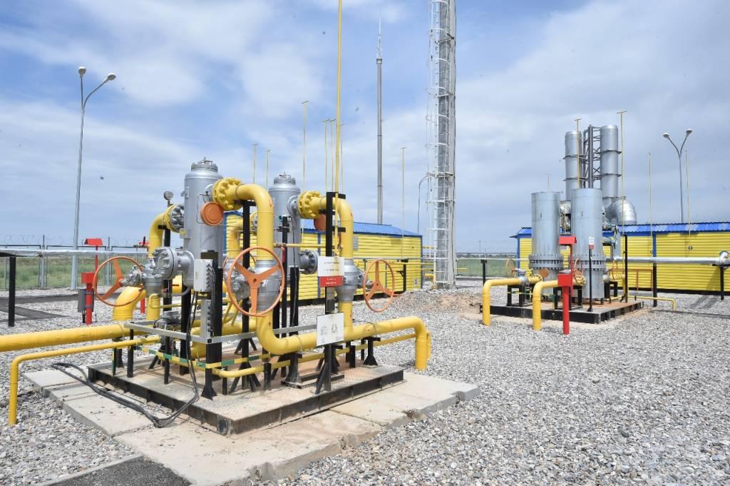 Биыл Оңтүстікте 70 мыңға жуық тұрғын табиғи газға қол жеткізді