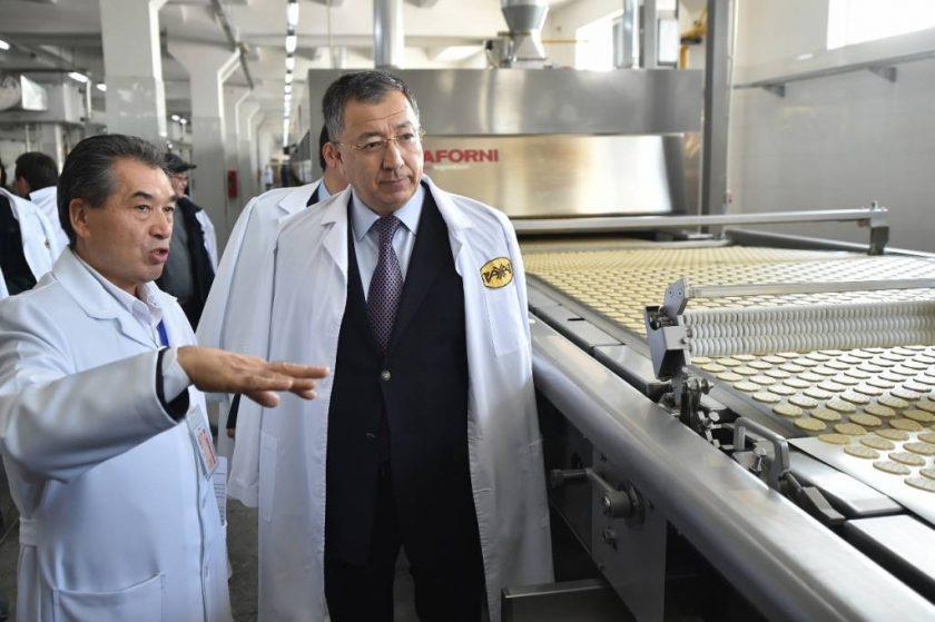 Шымкент кондитерлік фабрикасының жаңа желісі 200 тоннадан астам өнім шығарған