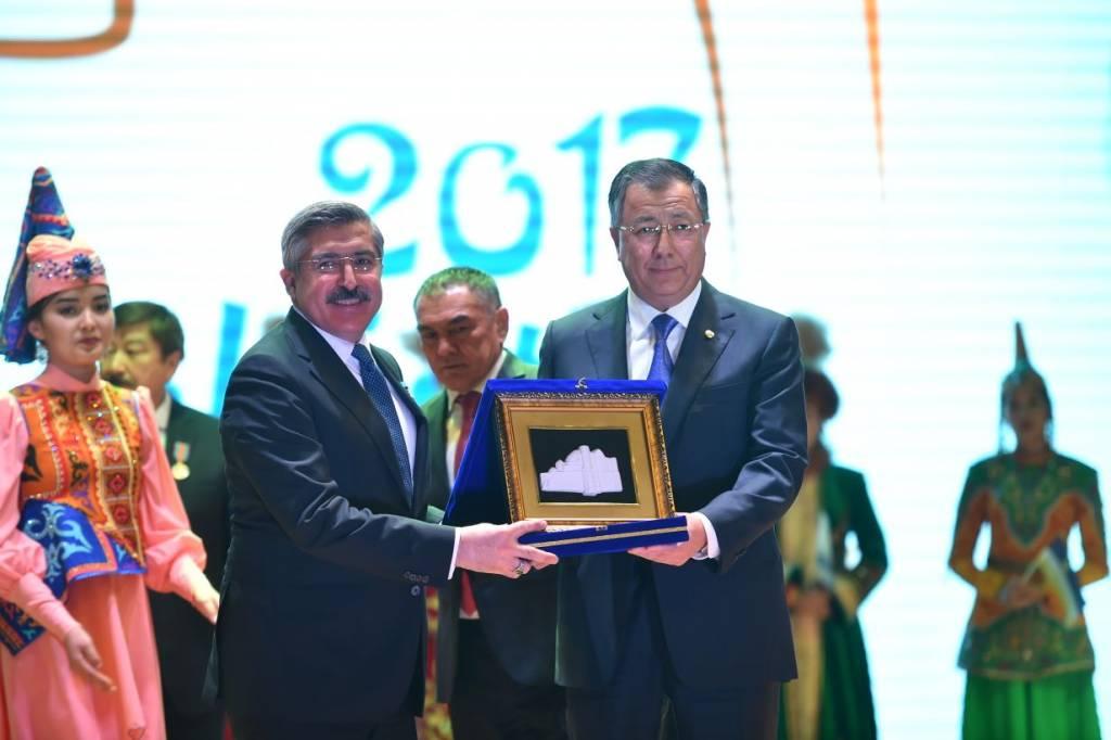 Түркістан - Түркі әлемінің мәдени астанасы жылының салтанатты жабылуы өтті