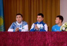 Шымкенттік жастар Әлем чемпиондарынан кеңес алды